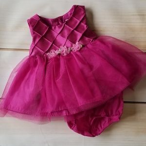 George Purple/Pink Tulle Special Occasion Dress
